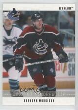 2002-03 ITG Be A Player Memorabilia Brendan Morrison #6