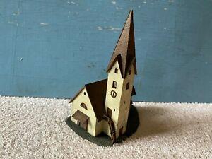 Maquette diorama belle église village FALLER non JOUEF trains électriques N