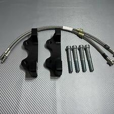 Retrofit kit for upgrade  4 pot caliper for rear axies BMW X5/X6 F15/F16/F85/F86
