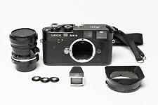 【Near Mint】Leica M4-2 35mm Rangefinder Film Camera & 28mm Lens w/ Accessories
