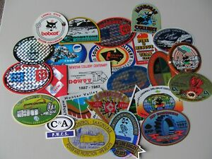Coal Mining Stickers,  25 Stickers  assorted