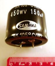 Samwha Electrolytic Capacitor HK2W157M35025HC 450V 150uf 105'C 3000hr OL0254