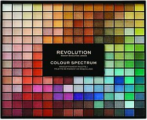 REVOLUTION Makeup 196 Colour Spectrum Eyeshadow Palette Large