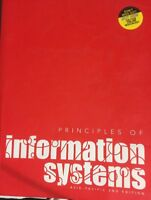 Principles of Information Systems 2nd Edition Moisiadis Genrich Stair Textbook