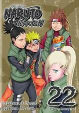 Naruto: Shippuden - Box Set 22 (DVD, 2015, 2-Disc Set) NEW