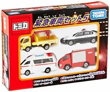 New Tomica Emergency Vehicle Set fire truck ambulance police from Japan