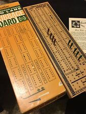 Pacific Game Pleasantime Continuous Track Two Lane Cribbage Board 715 Solid Wood