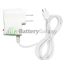 White Micro USB Wall AC Charger for Samsung Galaxy A3 A5 A7 J3 Amp 2 Prime On5