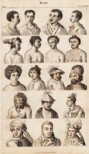 Antique Print Engraving 1859 Oliver Goldsmith - Ethnic Culture of Man 3 of 4