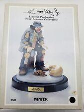 "Emmett Kelley Jr. Flambro ""Winter"" Clown 9531 - Limited Production # 614"