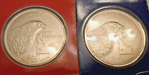 2007 P & D Idaho Quarter Set (2 Coins) *MINT CELLO*  **FREE SHIPPING**