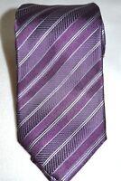 Ermenegildo ZEGNA Designer Krawatte soie silk TIE NEW 149€ 100% SEIDE lila