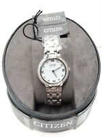 Citizen Eco-Drive Bella Diamond Accent Stainless Steel Ladies Watch EM0120-58A
