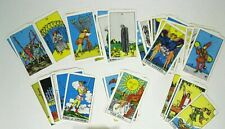 Tarot Cards ONLY Deck Pamela Smith Arthur Edward Waite Carol Ankh Circa 1970