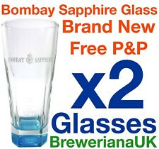 Set Of 2 Original Bombay Sapphire Glasses 320ml Brand New 100% Genuine Official