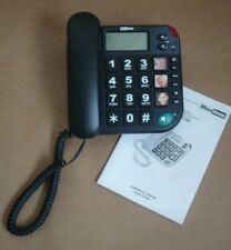 MAXCOM KXT480 BIG BUTTON PHONE BLACK (CORDED SPEAKER)