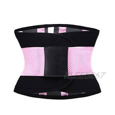Gym Sport Waist Trainer Cincher Tummy Girdle Belt Workout Body Shaper Corset Top