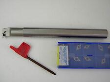Bohrstange S16Q SDUCR 07  inclusive 10 Platten DCMT 07 02 04 für Aluminium