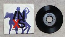 """S DISQUE VINYLE 45T SP  PROMO / INXS """"SUICIDE BLONDE"""" 1990 ROCK POP"""