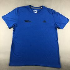 Adidas Rush Ultimate T Shirt Blue Adult Xl T-Shirt Fits Mens Large