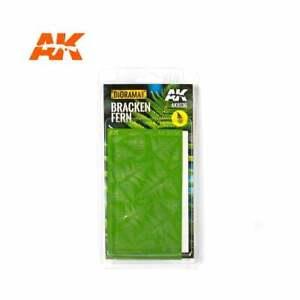 AK Interactive AK8136  BRACKEN FERN  1:48 1:32 1:35     Model Making  UK Seller