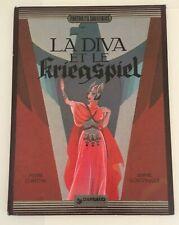 BD LA DIVA ET LE KRIEGSPIEL - Annie Goetzinger Pierre Christin (1981)