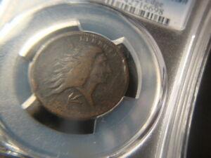 1793 Wreath PCGS F Details Sheldon S 11C Large Cent Impressive Flan SLABZ