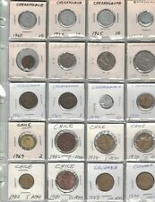 Mixed Lot Collection of World Coins. 190 Coins. 17 Countries. Lot 3.