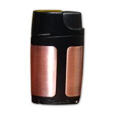 Xikar 550BZBK ELX Element Double Torch Flame Cigar Lighter - Bronze Black - New