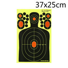 1x Realistic Hostage Targets Splatter Adhesive Target Stickers Shooting Moh