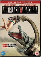 Lake Placid Vs. Anaconda DVD 2015 Region 2 Discs 1 Thriller Gift UK