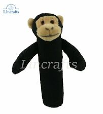Chimp Sensory Soft Toy, Crackle & Squeak, by Dowman Sold by Lincrafts.17cm
