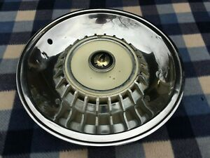 1964 CHRYSLER IMPERIAL CROWN HUBCAP WHEEL COVER (1) ORIGINAL OEM
