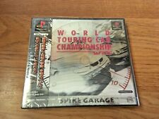 WTC World Touring Championship PlayStation NTSC-J Japan Import