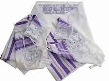 "Women Shawl  Tallit Talis Prayer Shawl 24"" X 73"" Made in Israel -High Quality!!"