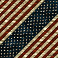 Distressed Aged American Flag Design Bandana #1078