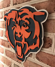 Chicago Bears Handmade Sign bar Office  Football man cave