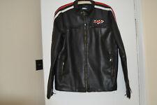 No Fear Racing Jacket Black PVC Large Size Men's