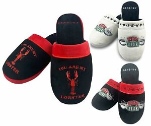 Ladies Friends You Are My Lobster/Central Perk Mule House Slippers