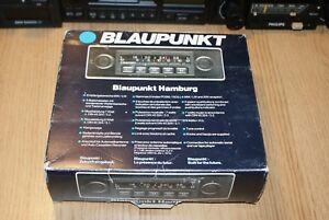 NEW Blaupunkt Hamburg NOS Rare 80s Car Radio Fully Boxed Warranty AUX IN