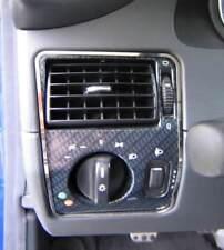 D mercedes slk r170 cromo marco para interruptor de luz-acero inoxidable pulido