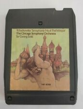 Sir Georg Solti Tchaikovsky symphony no.6 8 Track Cartridge
