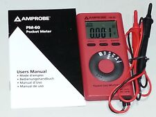 PM-60 Digital Multi Meter Amprobe