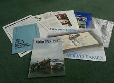 1982 VOLVO 300 Series 340 WELCOME TO THE VOLVO FAMILY BAG + 7 PART UK BROCHURE