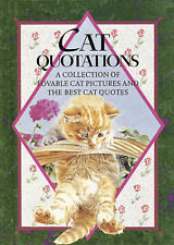 Cat Quotations,  | Hardcover Book | Good | 9781850150824