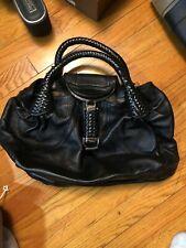 Vintage Fendi Spy Bag Handbag Black