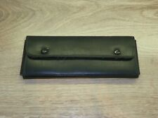 Vintage 60s. School Case, Black Leather Wallet + 3 mechanical & 2 wooden pencils
