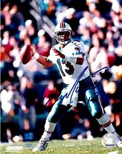 "DAN MARINO ""MIAMI DOLPHINS"" 8 X 10  AUTOGRAPHED PHOTO MOUNTED MEMORIES COA"