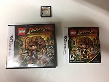 LEGO Indiana Jones: The Original Adventures (Nintendo DS, 2008) COMPLETE GAME