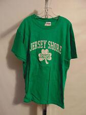 JERSEY SHORE IRISH SHAMROCK LIGHT GREEN SHORT SLEEVE T-SHIRT YOUTH XLARGE